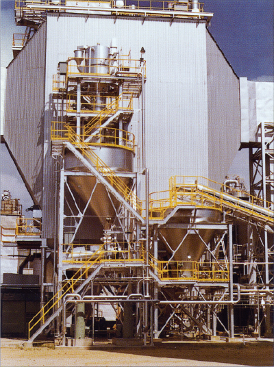 Ash handling system of private power generation equipment